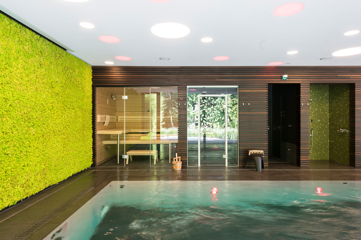Swimming Pool, Sauna and Hamam